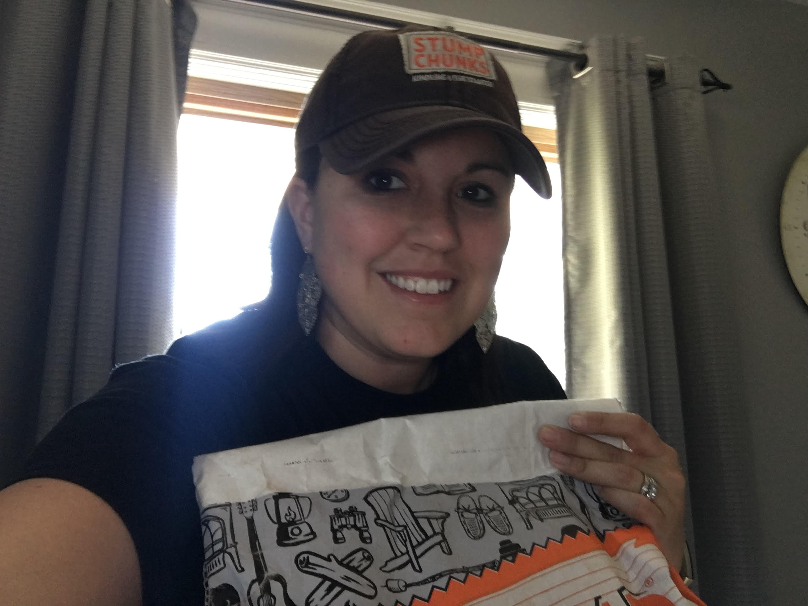 Stump Chunks – July Large Bag and Hat Contest Winner