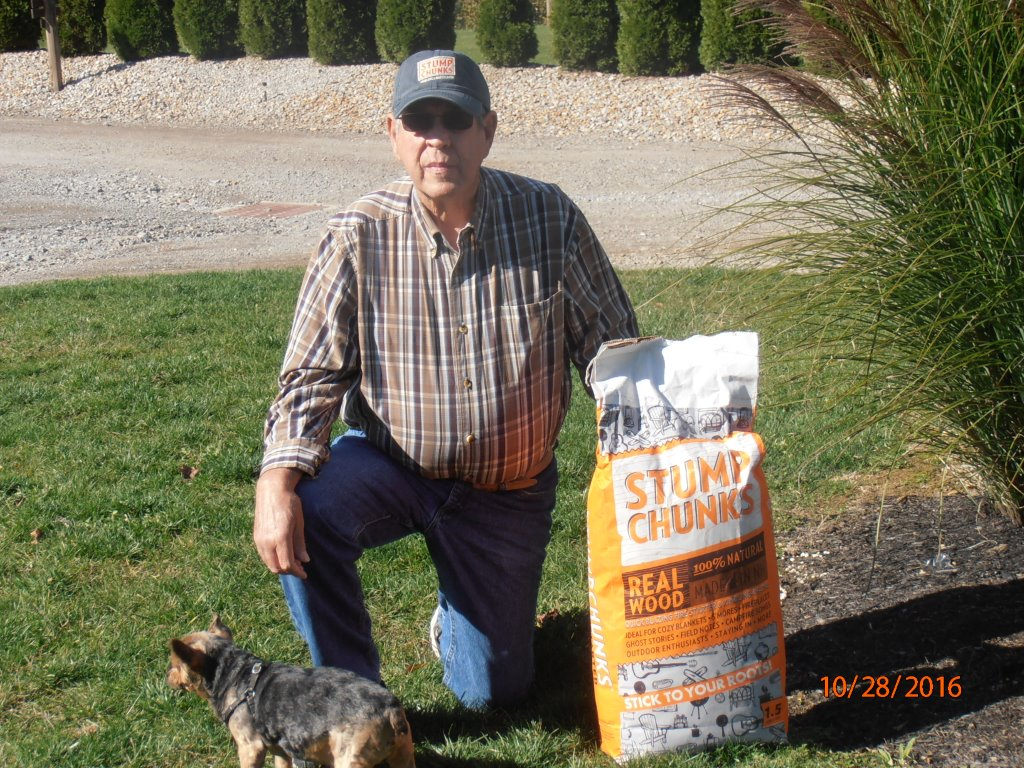 Stump Chunks – September Large Bag and Hat Contest Winner