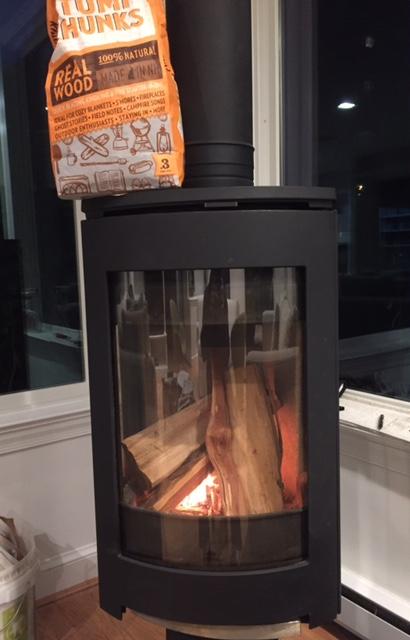 Light Firewood Woodstove Firepit